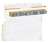 Hager Cosmos VD110PD. Щит на 10 модулей внешней установки с белой дверью, фото 4