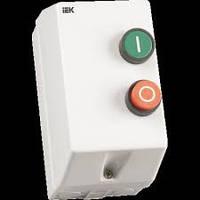 Контактор  КМИ11260 12А в оболочке Ue=220В/АС3 IP54 ИЭК