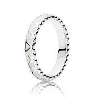 Кольцо Богатство любви из серебра 925 пробы pandora
