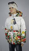 Куртка осень-весна, удлиненная размеры на рост от 92 до 146