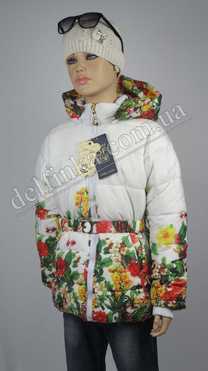 Куртка осень-весна, удлиненная размеры на рост от 92 до 146, фото 1