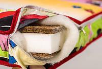 Детский матрас Люкс толстый - 8,5 см (кокос, поролон, кокос) Украина 363