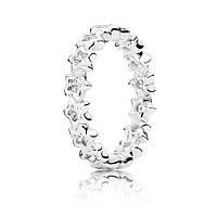 Кольцо сияние звезд из серебра 925 пробы pandora