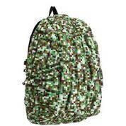 Рюкзак MadPax Block  Full цвет Digital Green (зеленый майнкрафт)