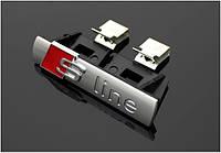 Эмблема решетки Audi Sline S-line