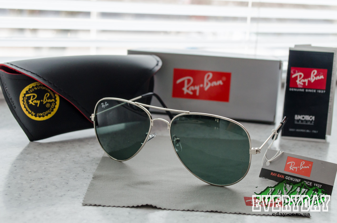 Солнцезащитные очки Ray-Ban Aviator (Стекло) - Интернет-магазин Everyday в  Кременчуге 91740c34783