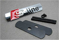 Эмблема решетки радиатора Audi S-line