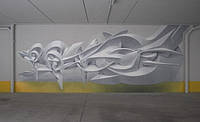 Роспись 3D граффити