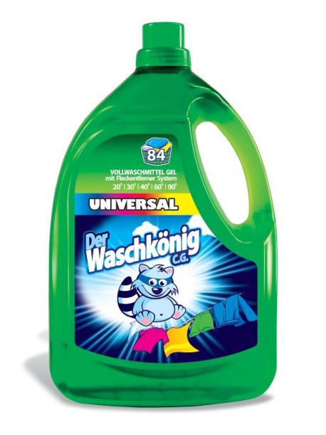 Гель для стирки Der Waschkonig Universal 3305мл для всех типов ткани