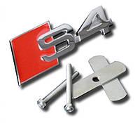 Эмблема решетки радиатора Audi S4, фото 1