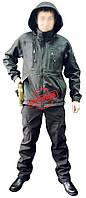 Куртка тактическая под пистолет Soft-shell Black