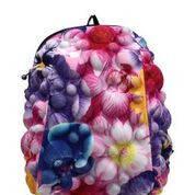 Школьные рюкзаки для девочек MadPax Bubble Half цвет Flower (цветы), фото 2