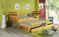 Ліжко двоярусне Домінік з масиву бук