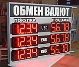 Табло обмін валют 1000х840 мм, фото 3