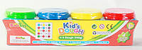 Набор для творчества Kid*s Dough - 4 цвета * 140 грамм
