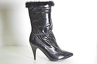 П Ботинки женские зимние натуральная кожа на каблуке 47d5f2fd1c202