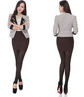Стильная женская коричневая юбка