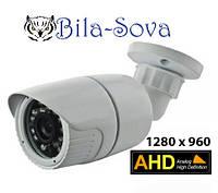 Видеокамера цветная TS-AHD1636 (TC-1636AHD) всепогодная, 1280x960, ИК до 25м, f=3,6мм,Tesla