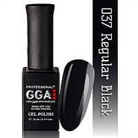 Гель лак GGA №37 (Regular black)