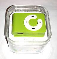 Mp3 плеер Icool в стиле Apple + наушники + кабель + коробка Зеленый