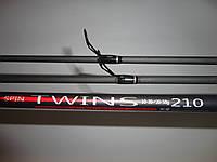 Спиннинг Red Sport Twins 10-30г  20-50г  2,1 м (карбон в комплекте 2 кончика)