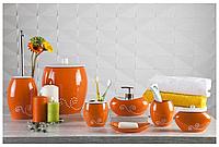 Настольный набор для ванной керамический (5 предметов)