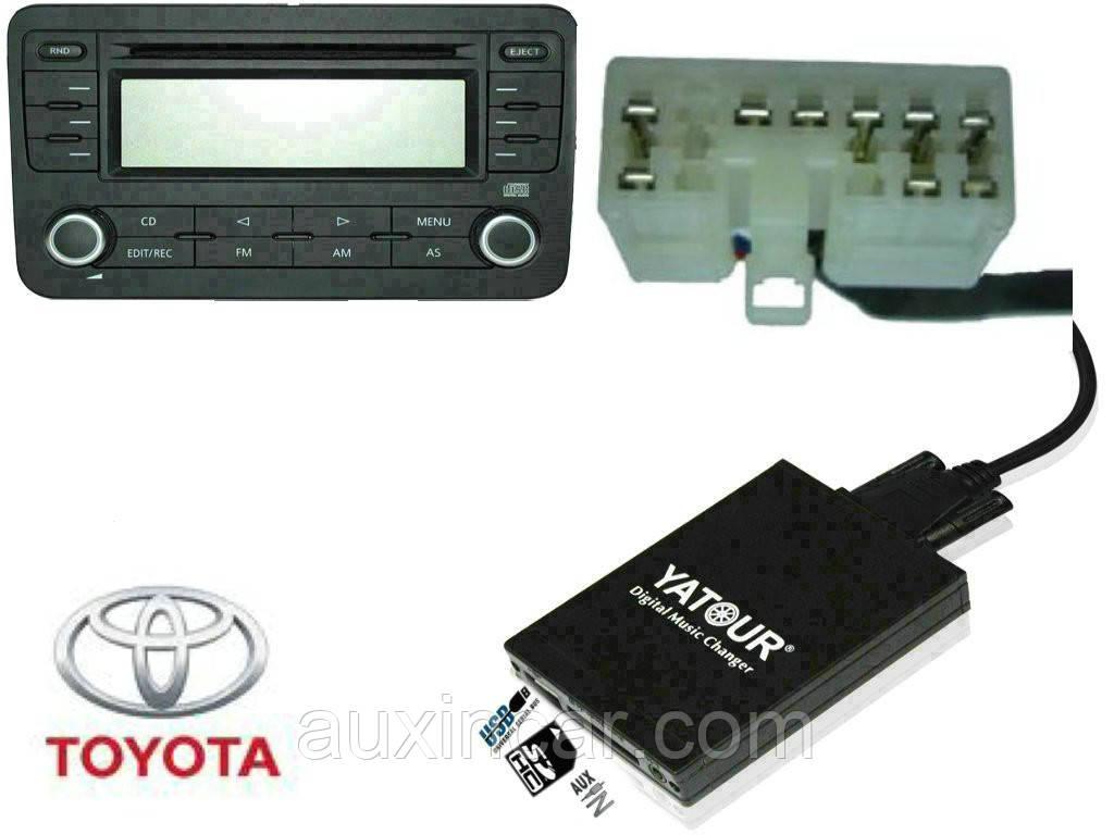 Флеш сд карта аукс ятур Yatour TOY1 для Toyota Lexus 1998-2004