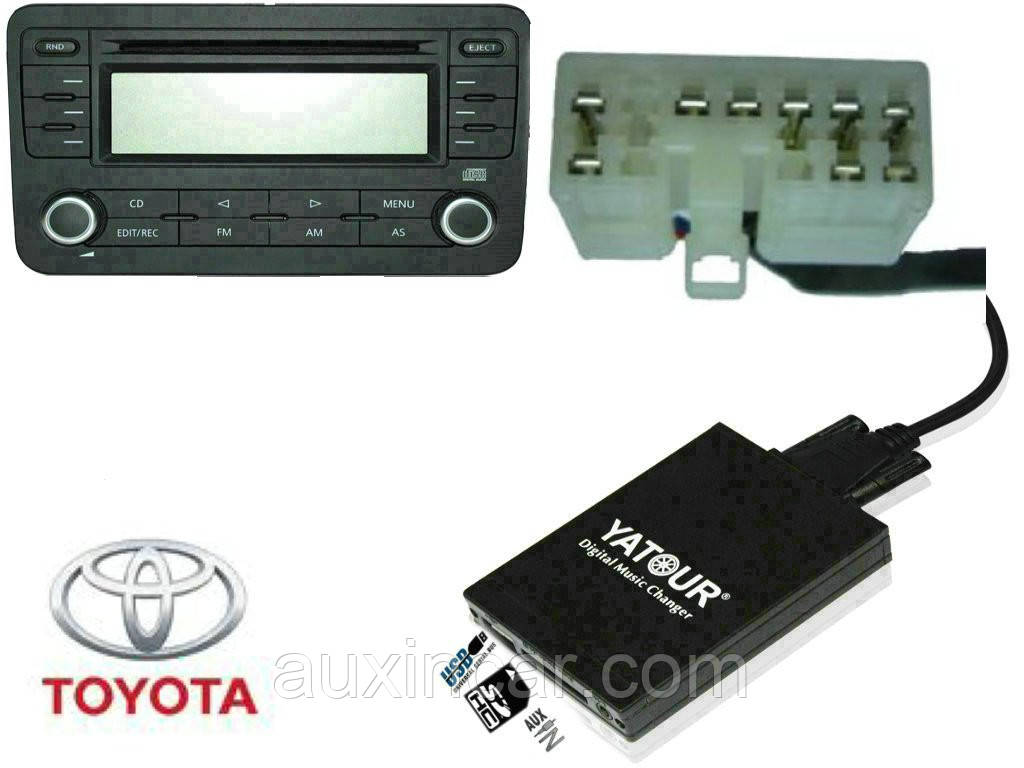 Toyota Lexus 1998-2004 Флеш сд карта аукс ятур Yatour TOY1
