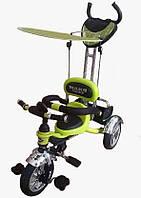 Велосипед трехколесный Mars Trike KR01 air (салатовый)