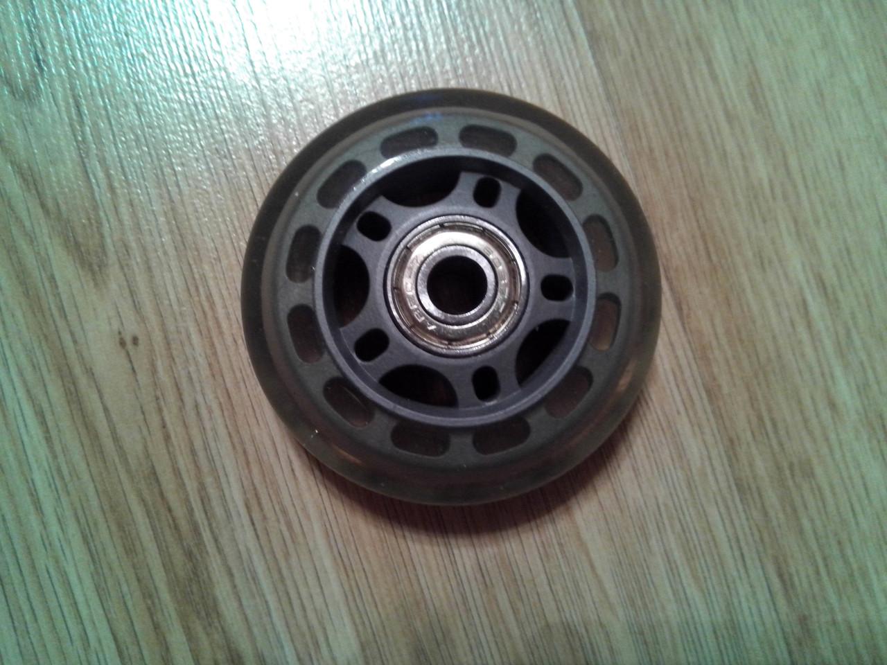 Колеса для роликів 70 мм Сіре (2T7042)