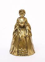 Бронзовый коллекционный колокольчик, бронза, Англия, 10,5 см, фото 1