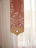 Жесткий ламбрекен Корона розовая, 2м, фото 4