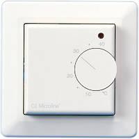 Механический терморегулятор для теплого пола OJ Electronics MTU2-1999 с датчиком температуры воздуха, фото 1