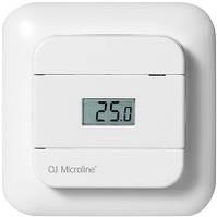 Цифровой термостат для теплого пола OJ Electronics OTD2-1999 с датчиками температуры пола и воздуха