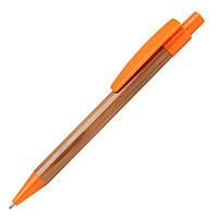 Экоручка бамбуковая (оранжевые детали)