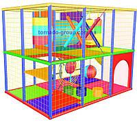 Лабиринт детский игровой со скалодромом, фото 1