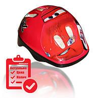 Шлем детский Amigo M красный Тачки