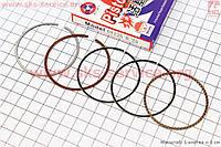 Кольца поршневые  57,4 +0,25 мм STD на скутер 4 т 150 сс