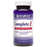 Витамин Е (полный спектр) 200 МЕ 60 капс женские витамины антиоксиданты для кожи волос  MRM USA, фото 2