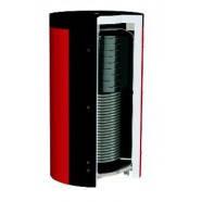 Бак-аккумулятор для котла 1500 л с бойлером 250 л и нижним теплообменником с изоляцией