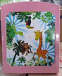 Комод панельный с рисунком зоопарк, фото 2