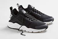 Мужские кроссовки Nike Air Huarache Run Ultra Black White, фото 1