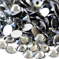 Темный металлик | Jet Hematit Стразы Имитация Swarovski (Размер 3ss; Тип_нанесения Клей Е6000)