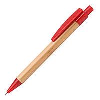 Экоручка бамбуковая (красные детали)