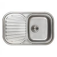 Кухонная нержавеющая мойка Germece 7448 микро-декор