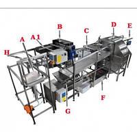 Автоматическая линия для центрифугирования меда полная версия