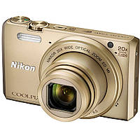 Фотоаппарат Nikon Coolpix S7000 Gold