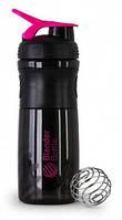 Шейкер Blender Bottle (760 ml black and pink)