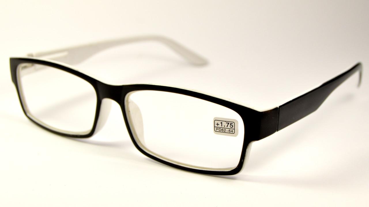Очки с диоптриями универсальные (111051 ч-б)