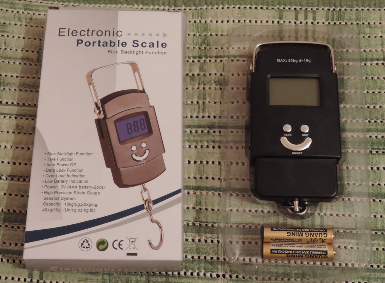 Кантер электронный с термометром-50 кг.